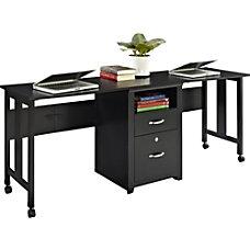 Altra 2 Person Wood Computer Desk