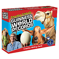 Carson Dellosa Guinness World Records Writing