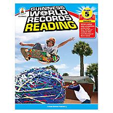 Carson Dellosa Guinness World Records Reading