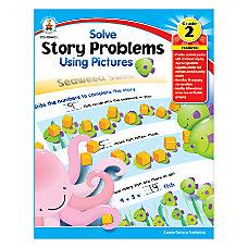 Carson Dellosa Solving Word Problems Using