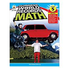 Carson Dellosa Guinness World Records Math