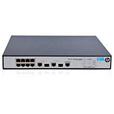 HP 1910 8 PoE Switch