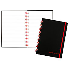 Black n Red Poly NotebookJournal 8