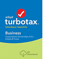 TurboTax Business Fed 2016 Windows Download