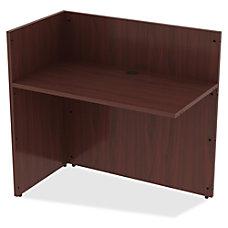 Lorell Reception Desk Edge 42 x