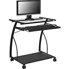 Altra Glass Mobile Computer Cart 29