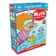Carson Dellosa CenterSOLUTIONS Learning Game Math