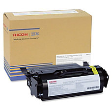 InfoPrint Solutions Black Toner Cartridge Laser