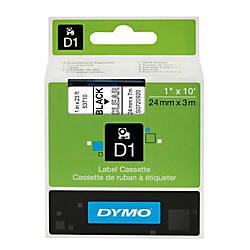 DYMO D1 53710 D1 Black On