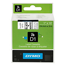 DYMO D1 53713 Black On White