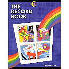 Creative Teaching Press Record Book Rainbow