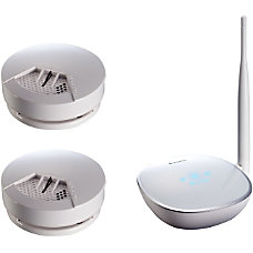 Asante Battery Operated Smoke Detector Kit
