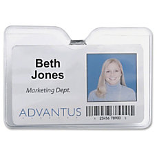Advantus 75456 ID Badge Holder with