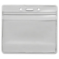 Advantus 75523 Re sealable Badge Holder