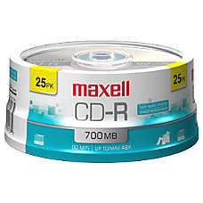 Maxell 48X CD R Media