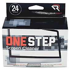 Read Right One Step CRT Screen