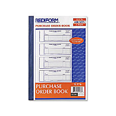 Rediform Purchase Order Form 400 Sheets