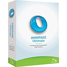 Nuance OmniPage v19 Ultimate Upgrade Package