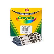 Crayola Crayon Refills 836 Gray Box