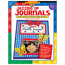 Creative Teaching Press Jazzing Up Journals
