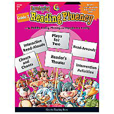 Creative Teaching Press Developing Reading Fluency