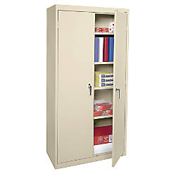 sandusky 72 steel weldedassembled storage cabinet with 4