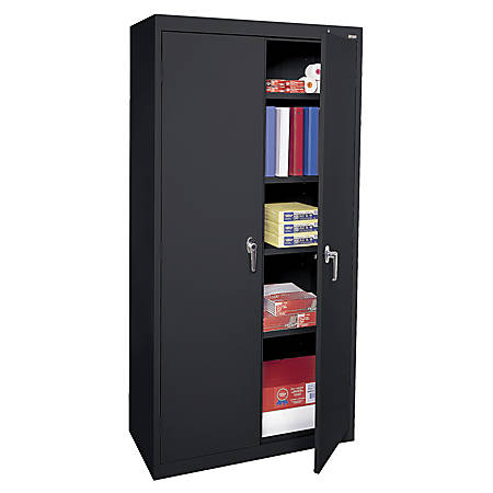 Sandusky 72 Steel WeldedAssembled Storage Cabinet - Sandusky 72 Steel WeldedAssembled Storage Cabinet With 4