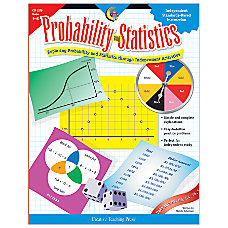 Creative Teaching Press Probability And Statistics