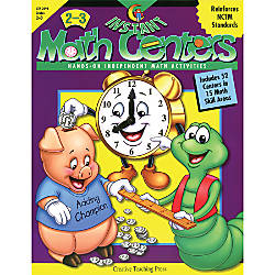 Creative Teaching Press Instant Math Centers
