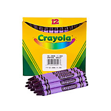 Crayola Crayon Refills 836 Purple Box