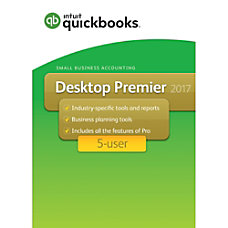 QuickBooks Desktop Premier 2017 5 User