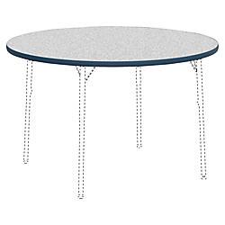 Lorell Classroom Round Activity Tabletop Gray