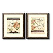 Amanti Art French Seed Packets Framed