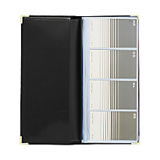 Rolodex Faux Leather Business Card Book