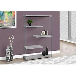 Monarch Specialties Open Concept Bookcase 4