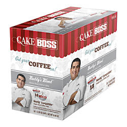 Cake Boss Coffee K Cup Pods