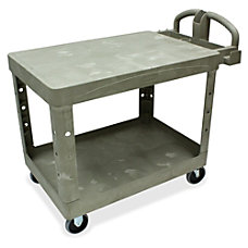 Rubbermaid Flat Shelf Utility Cart 33