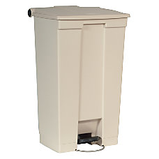 Rubbermaid Step On Wastebaskets 23 Gallons