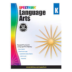 Carson Dellosa Spectrum Language Arts Workbook