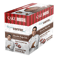 Cake Boss Coffee K Cups Chocolate