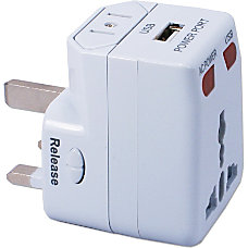 QVS World Power Travel Adapter Kit