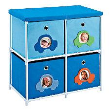 Altra Fabric Kids Storage Unit Car