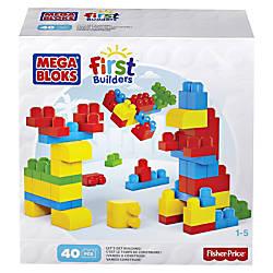 Mega Bloks First Builders Lets Get
