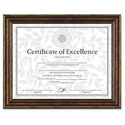 Dax Burns Grp Antique colored Certificate