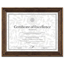 Dax Antique Colored Certificate Frame 11
