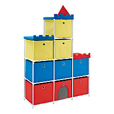 Altra Fabric Kids Storage Unit Castle
