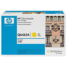HP Q6462AG Yellow Toner Cartridge