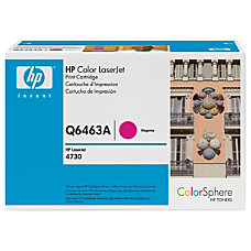 HP Q6463AG Magenta Original Toner Cartridge