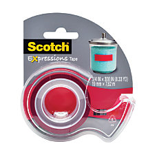 Scotch Expressions Magic Tape With Dispenser