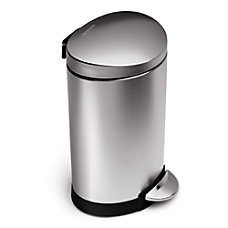 simplehuman Fingerprint Proof Mini Semi Round